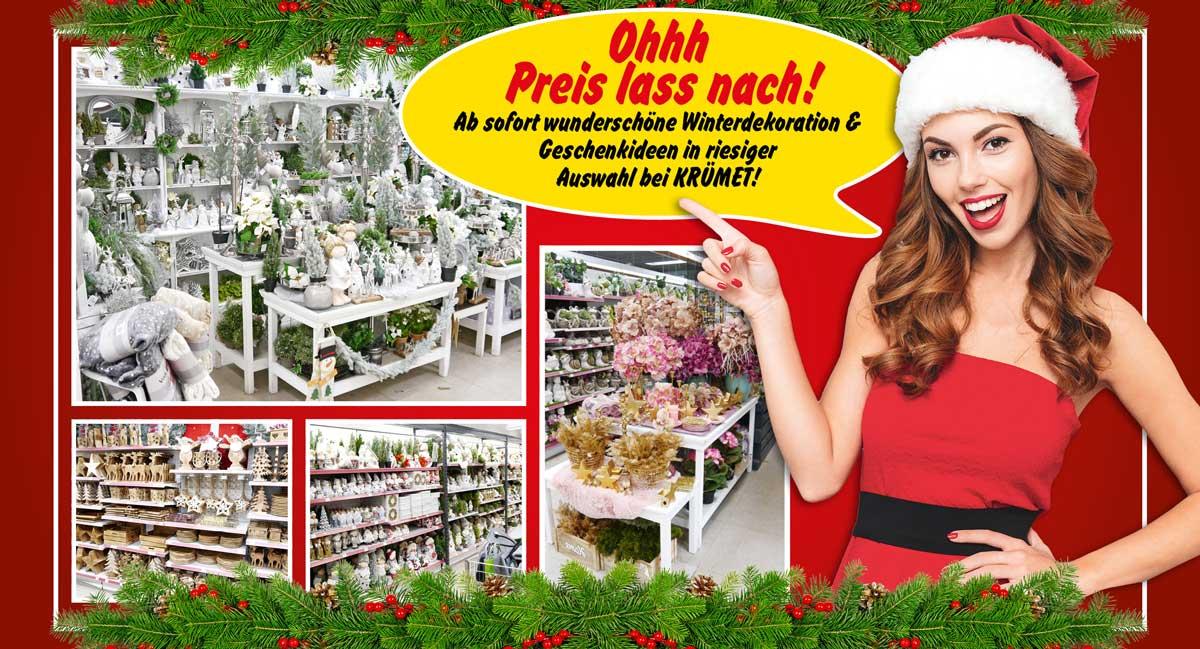 Wunderschöne Winterdekoration & Geschenkideen